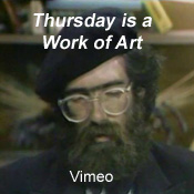 Watch 'Thursday is a Work of Art' by artist Bob Gregson on Vimeo